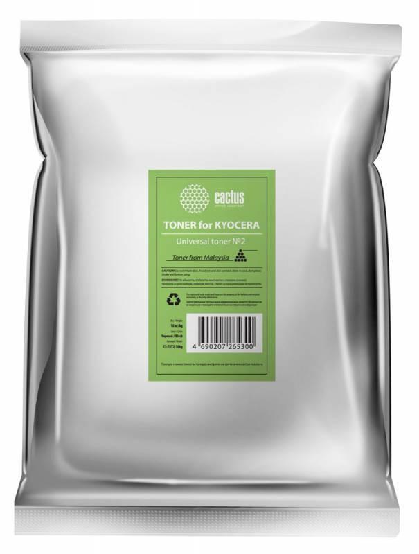 Тонер Cactus CS-TKY2-10kg универсальный черный для принтера Kyocera (TK130)