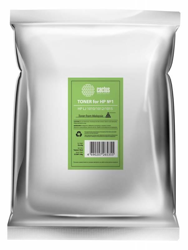 Тонер Cactus CS-THP1-10kg черный для принтера HP LJ 1010/1012/1015