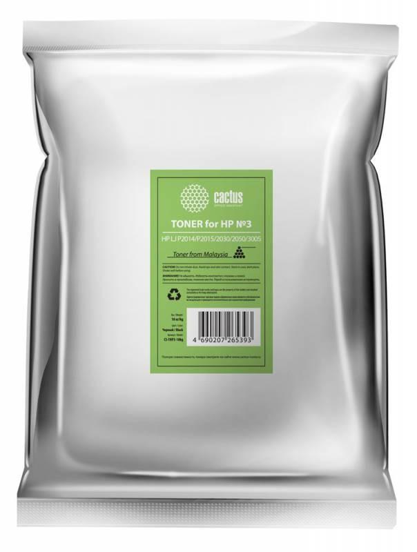 Тонер Cactus CS-THP3-10kg черный для принтера HP LJ P2014/P2015/2030/2050/3005