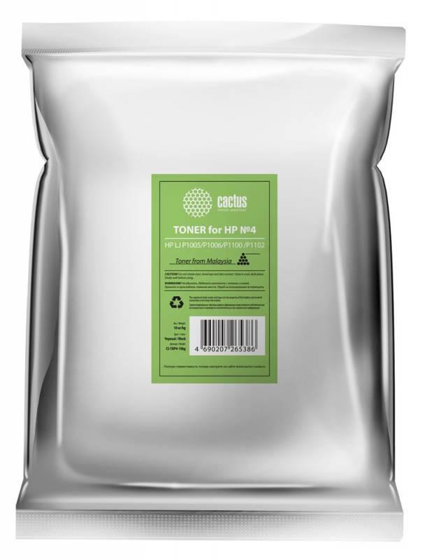 Тонер Cactus CS-THP4-10kg черный для принтера HP LJ P1005/P1006/P1100/P1102
