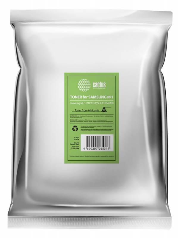 Тонер Cactus CS-TSG1-10kg черный для принтера Samsung ML 1610/2010/SCX 4100/4200