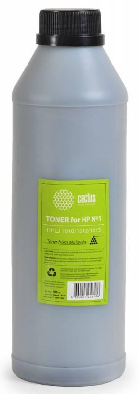 Тонер Cactus CS-THP2-1000 черный для принтера HP LJ 1000/1200/1150/9000