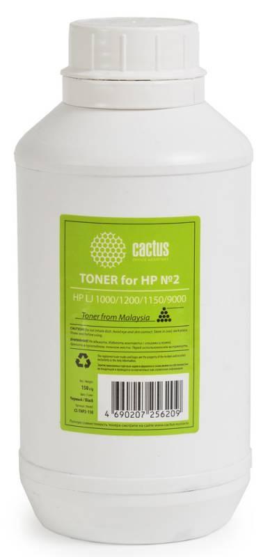 Тонер Cactus CS-THP2-150 черный для принтера HP LJ 1000/1200/1150/9000