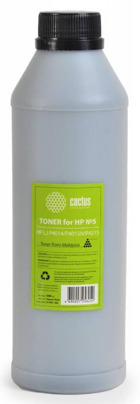 Тонер Cactus CS-THP3-1000 черный для принтера HP LJ P2014/P2015/2030/2050/3005
