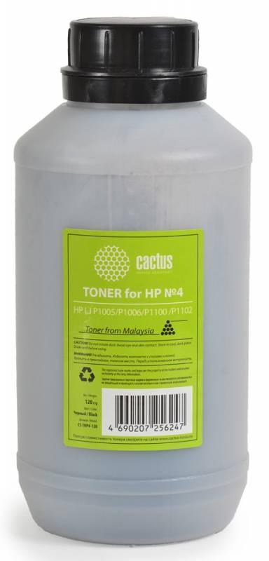 Тонер Cactus CS-THP4-120 черный для принтера HP LJ P1005/P1006/P1100 /P1102
