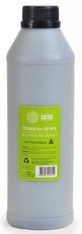 Тонер Cactus CS-THP5-1000 черный для принтера HP LJ P4014/P4015N/P4515