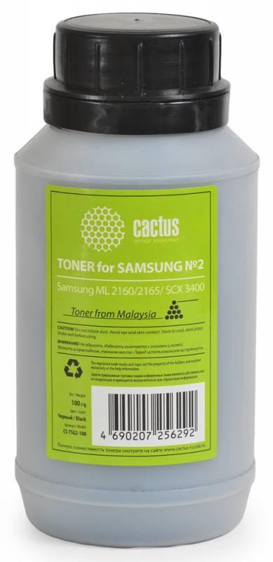 Тонер Cactus CS-TSG2-100 черный для принтера Samsung ML 2160/2165/SCX 3400