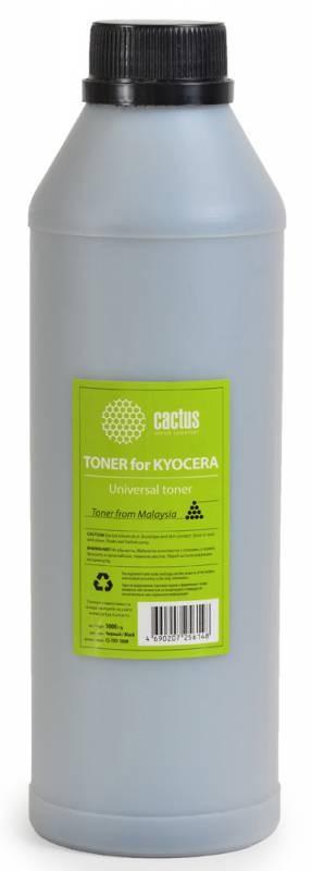 Тонер Cactus CS-TKY-1000 универсальный черный для копира Kyocera