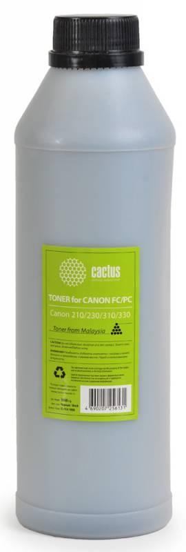 Тонер Cactus CS-TCN-1000 черный для копира Canon 210/230/310/330