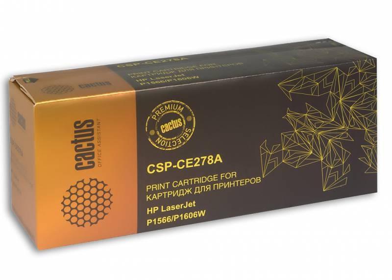 Картридж Cactus CE278A Premium