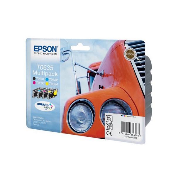 Набор из 4-х картриджей Epson T06354A